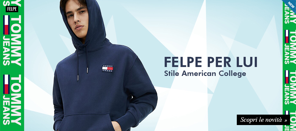 Collezione Felpe Tommy Jeans uomo