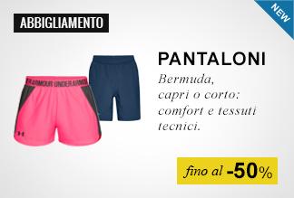 Under Armour pantaloni fino al -50%
