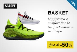Scarpe basket fino al -50%