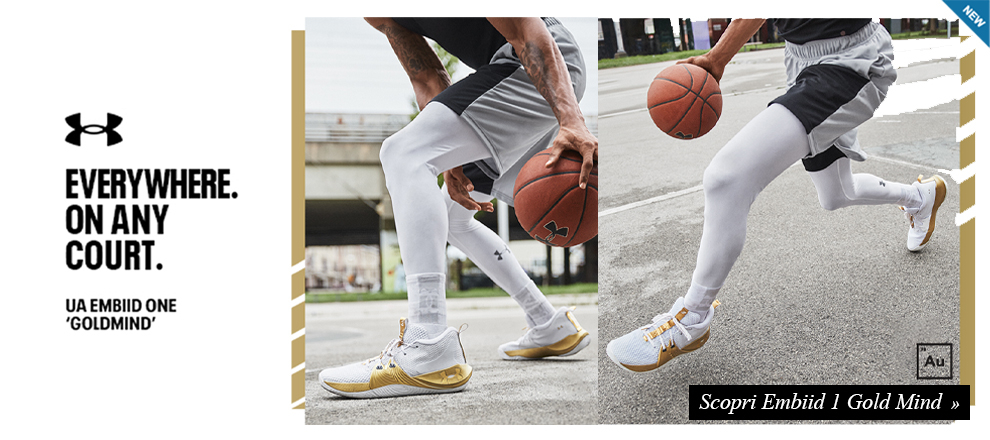 Under Armour Embiid 1 Gold Mind