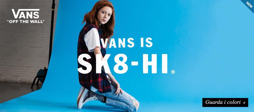 Vans is Sk8
