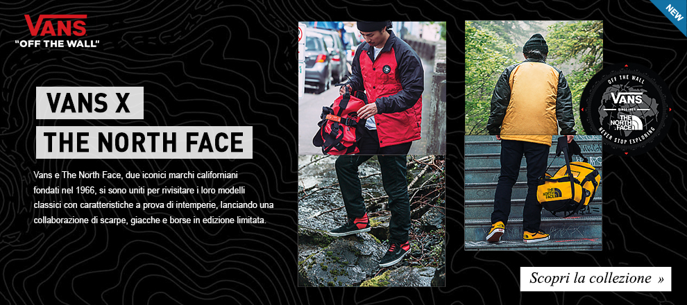 Limited Edition: Speciale Vans X The North Face