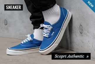 Collezione Sneaker Vans Authentic