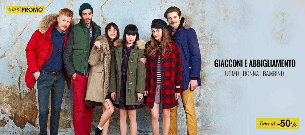 Giacche e abbigliamento Woolrich fino al -50%