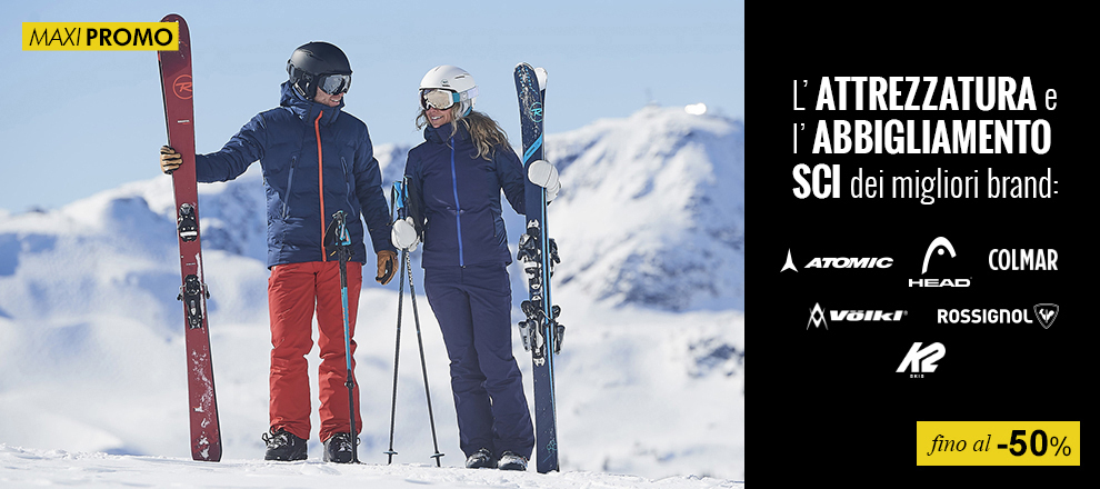each adventure Upbringing  Attrezzatura Sci | scopri lo shop specializzato Maxi Sport