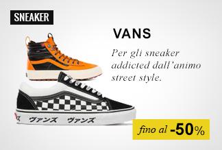 Sneaker Vans fino a -50%