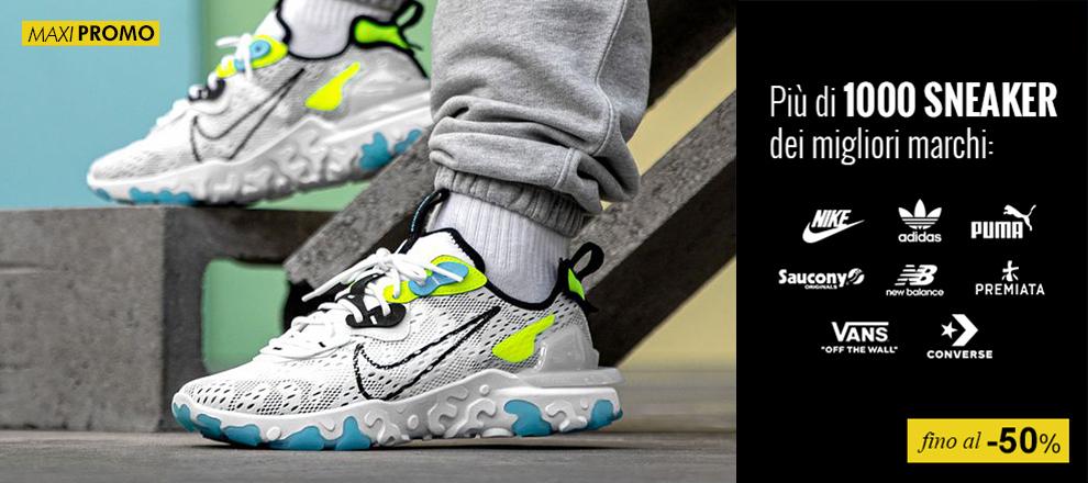 Maxi promozioni Sneaker