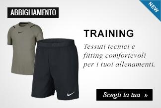 Novità abbigliamento training